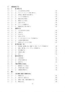 日本生活文化検定テキスト目次P3のサムネイル